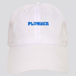 Plumber Blue Bold Design Cap