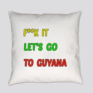 Let's go to Guyana Everyday Pillow