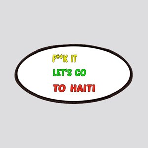 Let's go to Haiti Patch