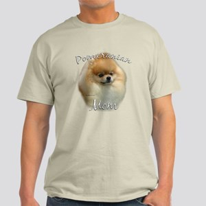 Pomeranian Mom2 Light T-Shirt