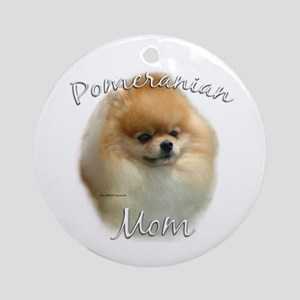 Pomeranian Mom2 Ornament (Round)