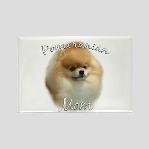 Pomeranian Mom2 Rectangle Magnet