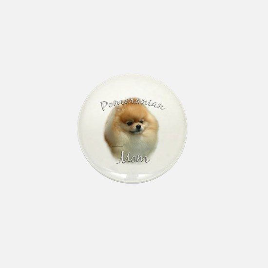 Pomeranian Mom2 Mini Button