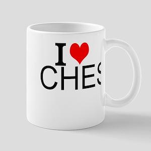 I Love Chess Mugs