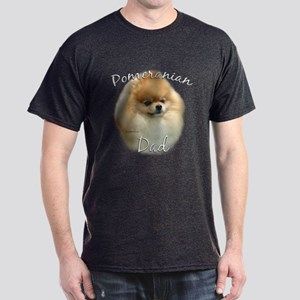 Pomeranian Dad2 Dark T-Shirt