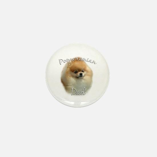 Pomeranian Dad2 Mini Button