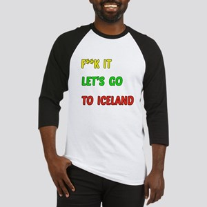 Let's go to Iceland Baseball Jersey