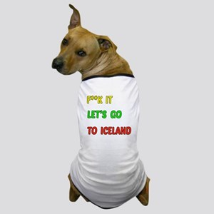 Let's go to Iceland Dog T-Shirt