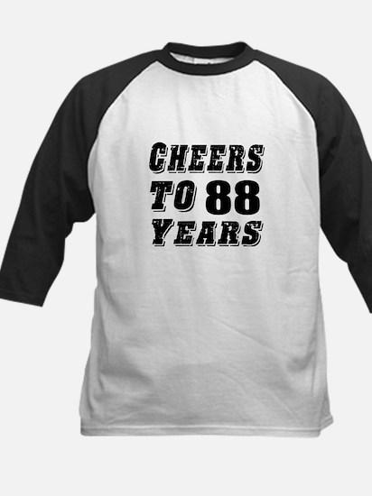Cheers To 88 Kids Baseball Jersey