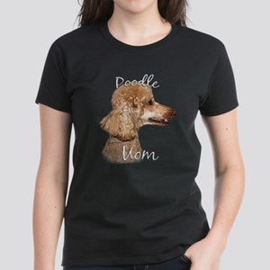 Poodle Mom2 Women's Dark T-Shirt