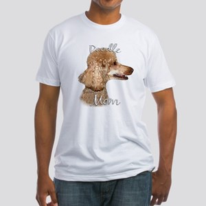 Poodle Mom2 Fitted T-Shirt