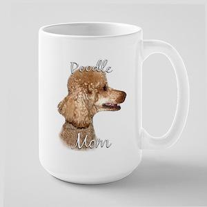 Poodle Mom2 Large Mug