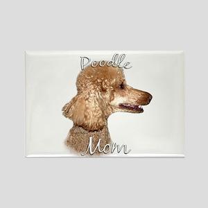 Poodle Mom2 Rectangle Magnet