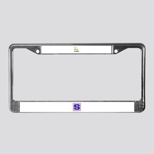 Let's go to Jamaica License Plate Frame