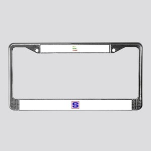 Let's go to Kuwait License Plate Frame