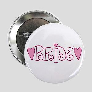 Bride Love Letters Button