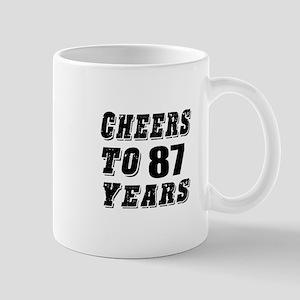Cheers To 87 Mug