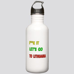 Let's go to Lithuania Stainless Water Bottle 1.0L