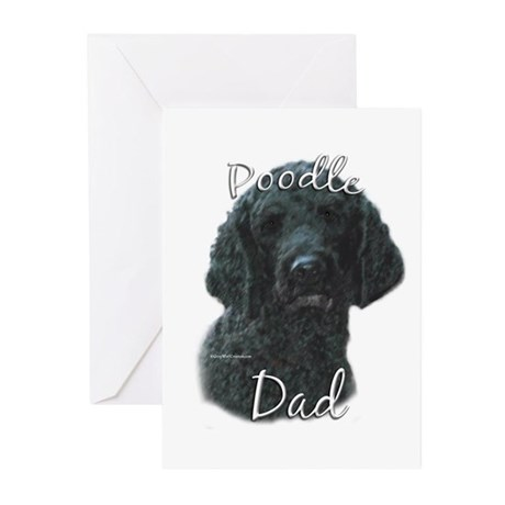 Poodle Dad2 Greeting Cards (Pk of 10)