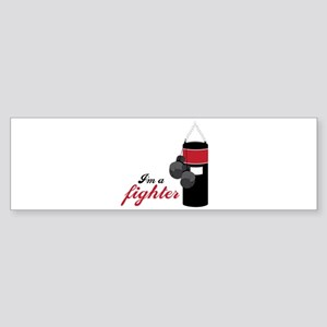 Boxing Fighter Bumper Sticker