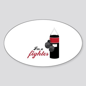 Boxing Fighter Sticker