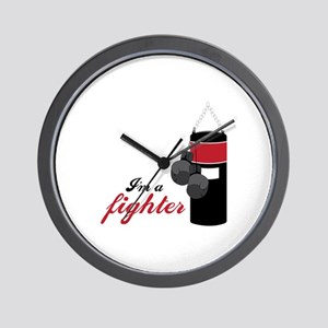Boxing Fighter Wall Clock