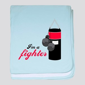 Boxing Fighter baby blanket
