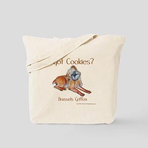 Brussels Griffon Cookies! Tote Bag