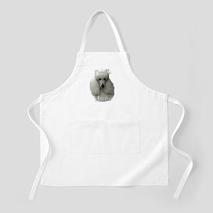 Poodle Mom2 BBQ Apron