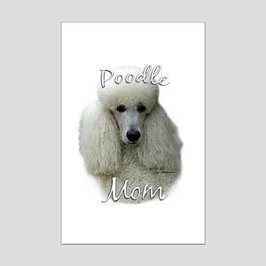Poodle Mom2 Mini Poster Print