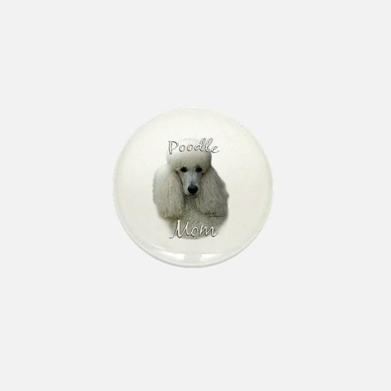 Poodle Mom2 Mini Button