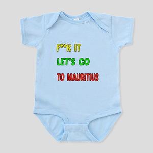 Let's go to Mauritius Infant Bodysuit
