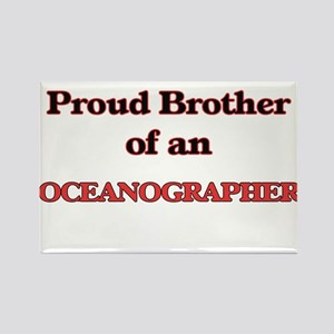 Proud Brother of a Oceanographer Magnets
