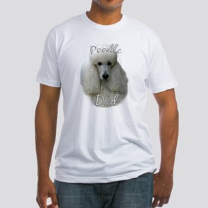 Poodle Dad2 Fitted T-Shirt