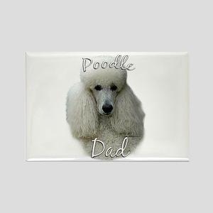 Poodle Dad2 Rectangle Magnet