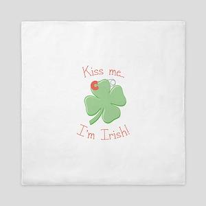 Irish Kiss Queen Duvet