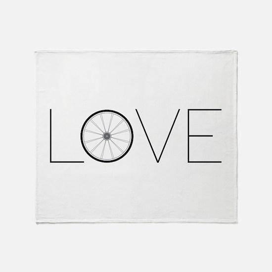 Love Wheel Throw Blanket