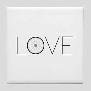 Love Wheel Tile Coaster