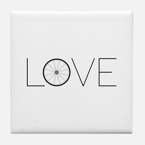 Love Wheel Tile Coaster