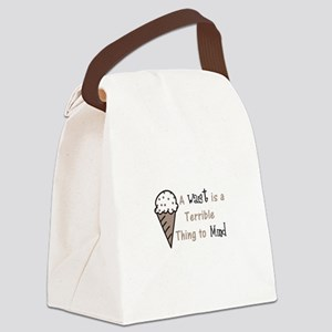 A Terrible Thing Canvas Lunch Bag