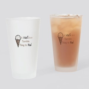 A Terrible Thing Drinking Glass