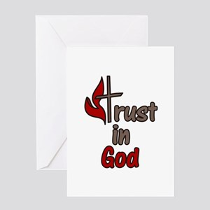Trust In God Greeting Cards