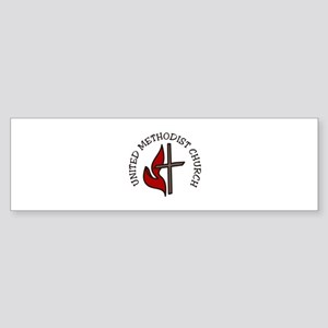 United Methodist Church Bumper Sticker