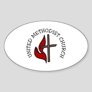 United Methodist Church Sticker