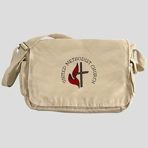 United Methodist Church Messenger Bag