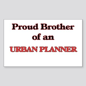Proud Brother of a Urban Planner Sticker