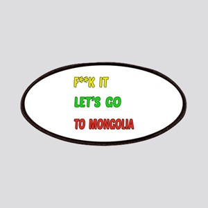 Let's go to Mongolia Patch
