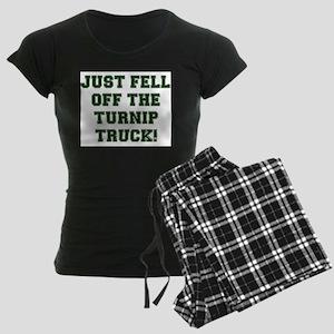 TURNIP TRUCK! Women's Dark Pajamas