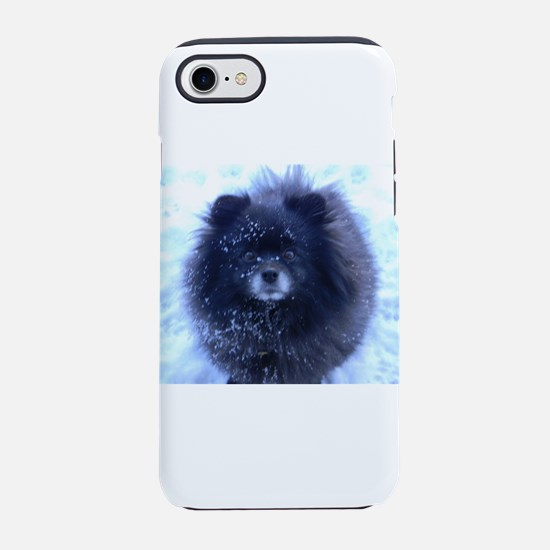 Snowy pomeranian iPhone 8/7 Tough Case