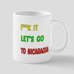 Let's go to Nicaragua Mug